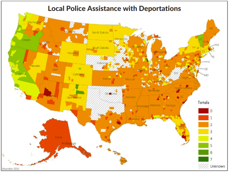 Local Police Assistance with Deportations